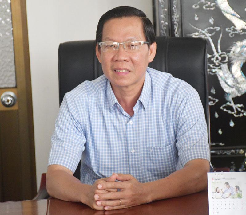 Bí thư Tỉnh ủy Phan Văn Mãi.