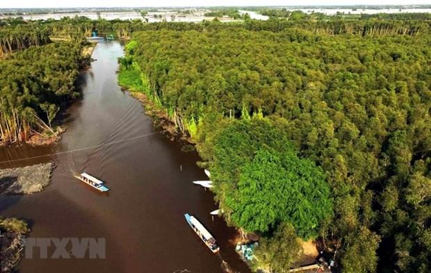 Phát triển du lịch đồng bằng sông Cửu Long. Ảnh: TTXVN
