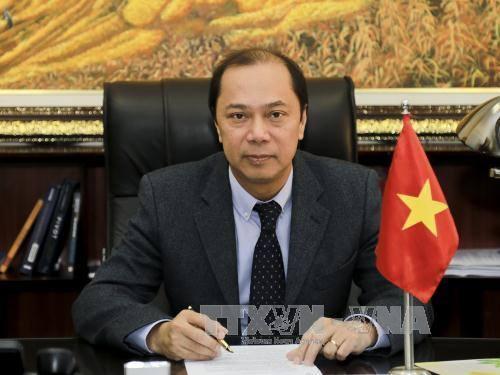 Thứ trưởng Bộ Ngoại giao Nguyễn Quốc Dũng. Ảnh: TTXVN phát