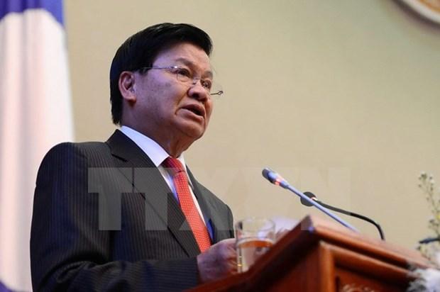 Thủ tướng Chính phủ nước Cộng hòa Dân chủ Nhân dân Lào Thongloun Sisoulith. (Nguồn: THX/TTXVN)