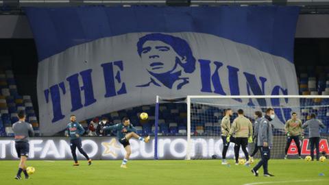 Napoli đổi tân sân để tưởng nhớ huyền thoại Maradona