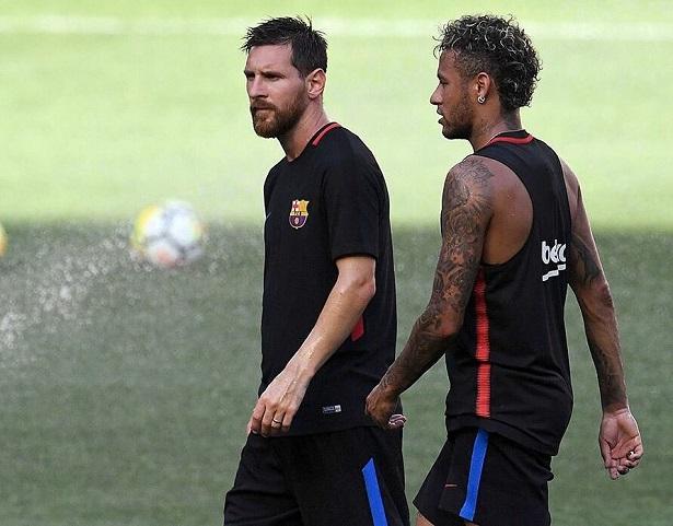 Neymar muốn được thi đấu cùng Messi ở PSG