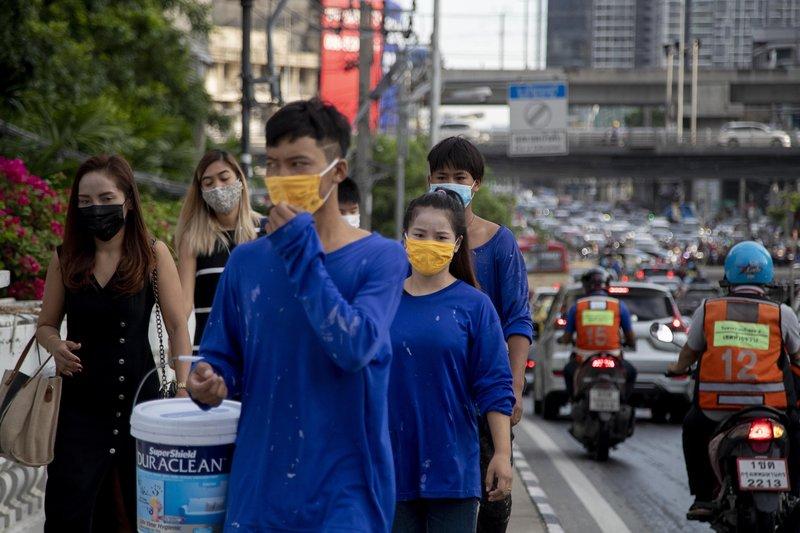 Thái Lan đối mặt với đợt sóng dịch mới. Ảnh: Bangkok Post