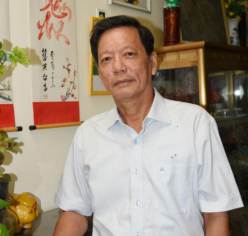 Nhà báo Lê Minh Trí (Minh Trấn)