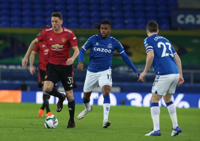M.U thi đấu lấn lướt nhưng gặp khó trong việc ghi bàn trước Everton ở hiệp 1