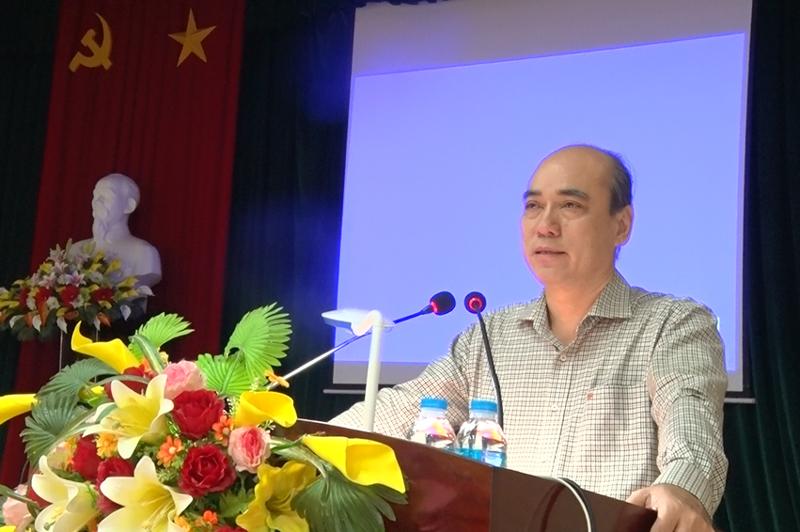 Bí thư Thành ủy Nguyễn Văn Tuấn triển khai nội dung các NQ.