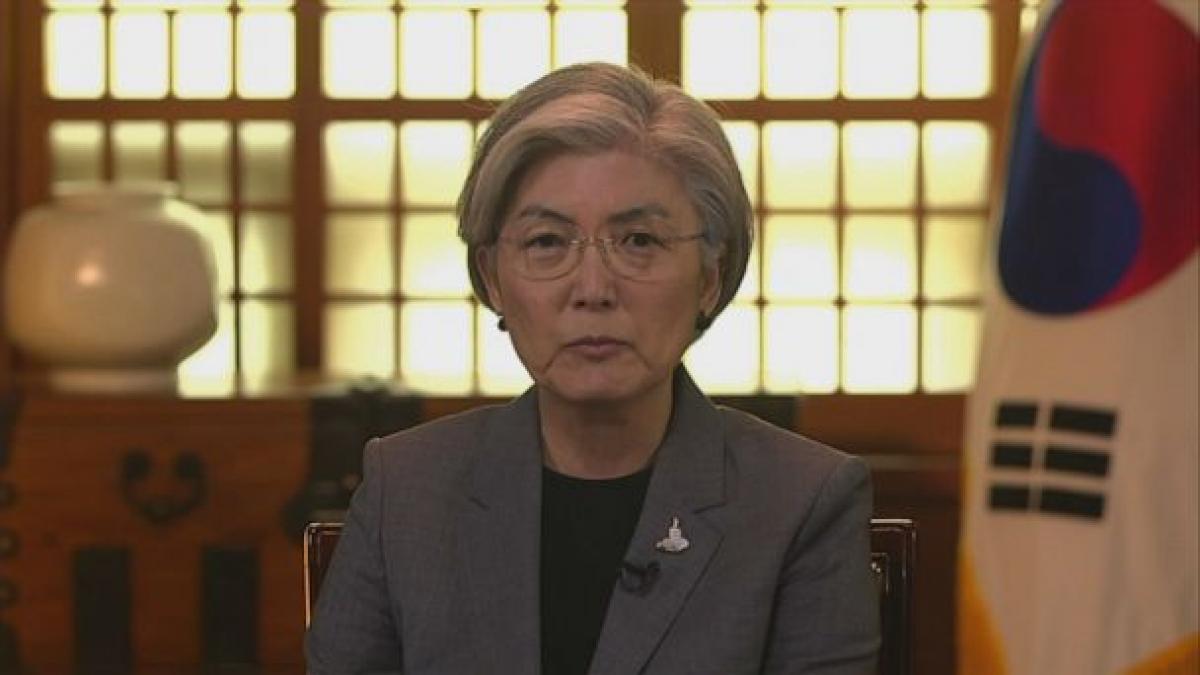 Ngoại trưởng Hàn Quốc Kang Kyung-wha. Ảnh: ABC News.