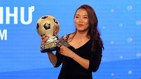 Tiền đạo Huỳnh Như lần thứ 3 giành Qủa bóng vàng nữ Việt Nam