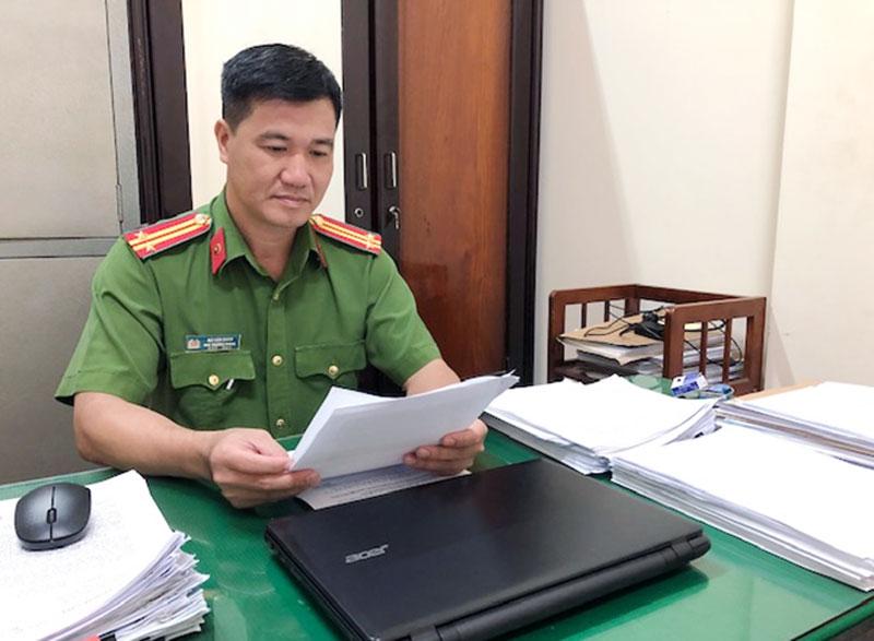 Trung tá Bùi Văn Quân