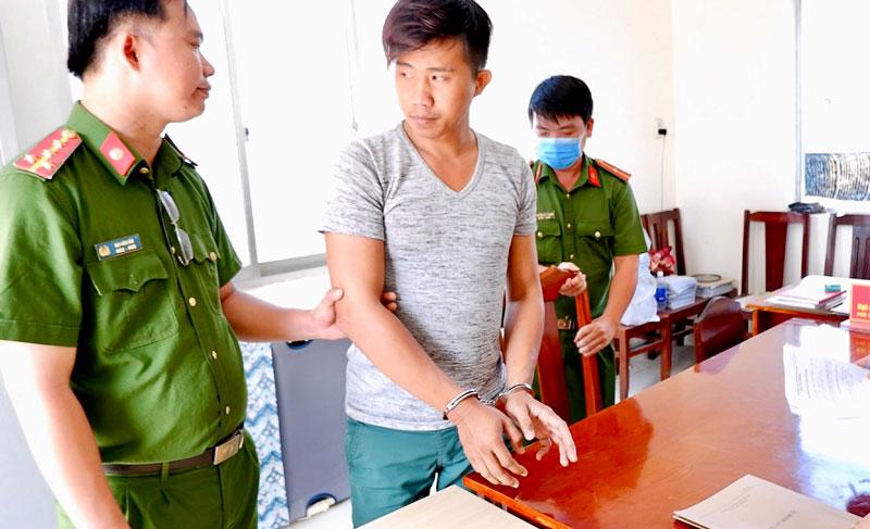 Đối tượng Nguyễn Vũ Thanh. Ảnh: Thắm Vinh