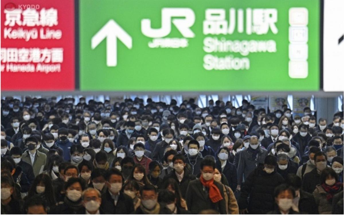 Một góc nhà ga Shinagawa của Nhật Bản. (Ảnh: Kyodo News)