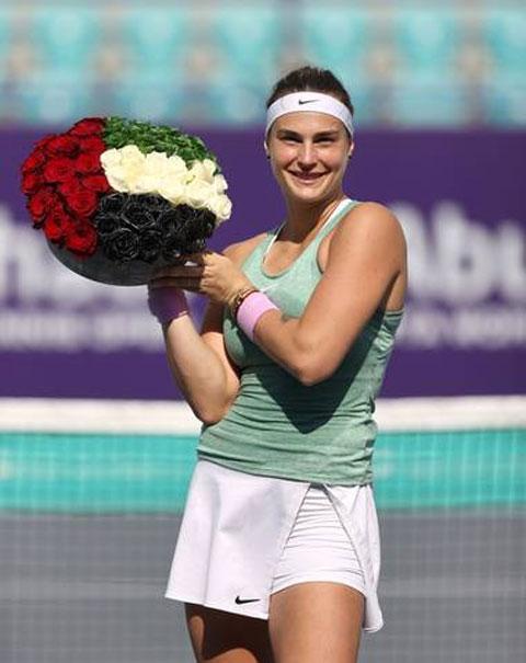 Chức vô địch ở Abu Dhabi sẽ giúp Aryna Sabalenka leo lên vị trí số bảy trên bảng xếp hạng WTA cập nhật đầu tuần tới