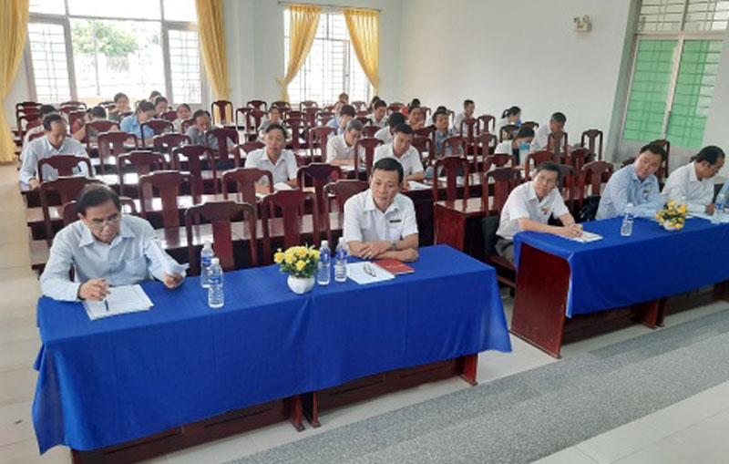 Đại biểu dự hội nghị. Ảnh: Văn Minh