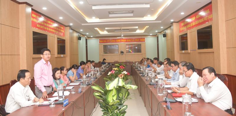 Ý kiến của đại biểu tham dự cuộc họp.