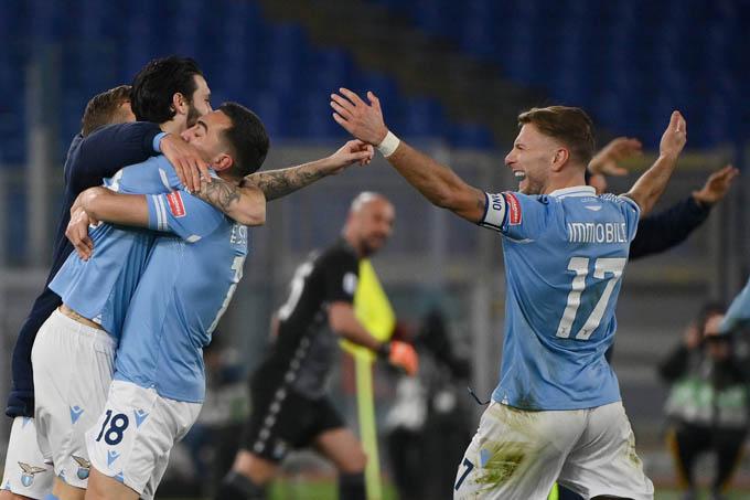 Lazio đã giành chiến thắng trước Roma.