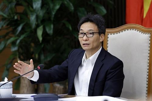 Phó thủ tướng Vũ Đức Đam chủ trì Hội nghị - Ảnh: VGP/Đình Nam