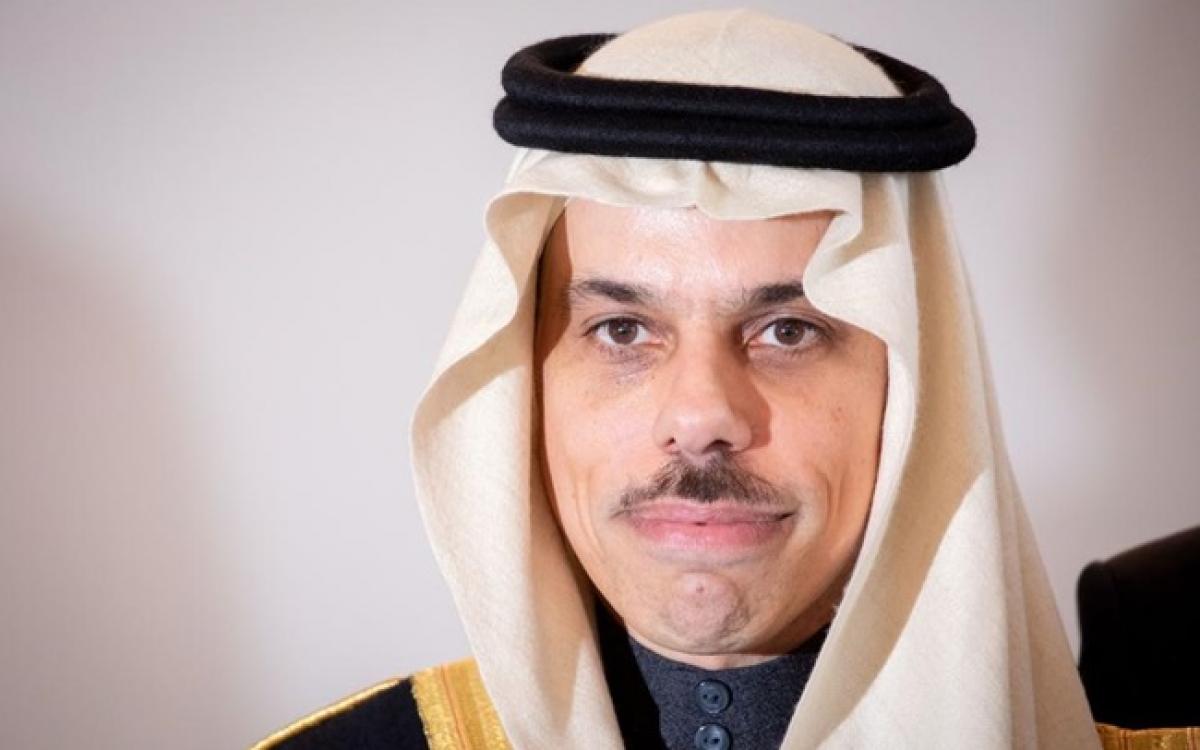 Ngoại trưởng Saudi Arabia - Faisal bin Farhan. Ảnh: Arabian News