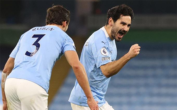 Guendogan ghi bàn thắng thứ 2 cho City