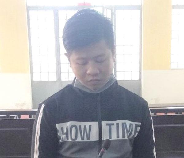 Bị cáo Nguyễn Thanh Nhã tại phiên tòa.