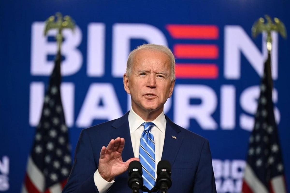 Tổng thống đắc cử Joe Biden. Ảnh: AFP.