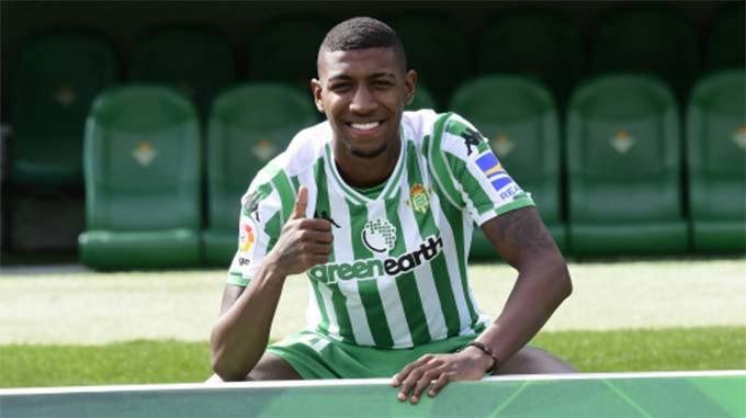 Emerson đang đá cho Betis theo dạng cho mượn
