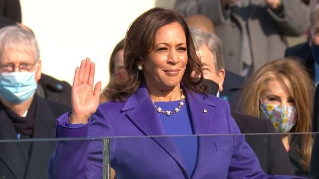 Phó tổng thống Mỹ Kamala Harris. Ảnh: Bay Area News Group
