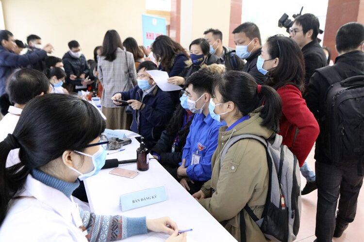 Việt Nam thử nghiệm vaccine COVIVAC phòng COVID-19. Ảnh: Lê Phú