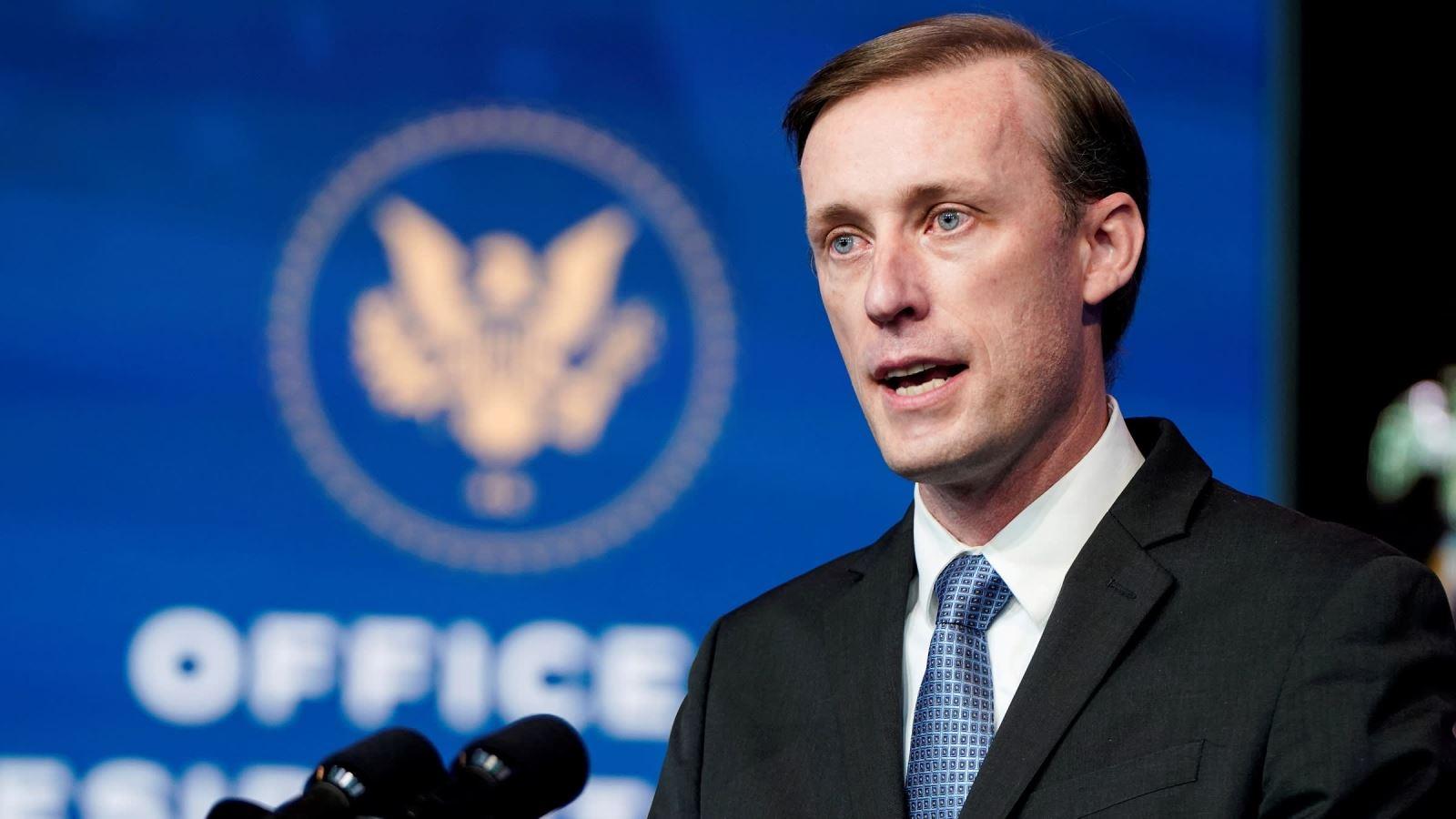 """Cố vấn An ninh Quốc gia Mỹ Jake Sullivan tái khẳng định mong muốn thúc đẩy hợp tác Mỹ-Nhật Bản hướng đến một """"Ấn Độ Dương-Thái Bình Dương tự do và mở"""". Ảnh: Reuters"""