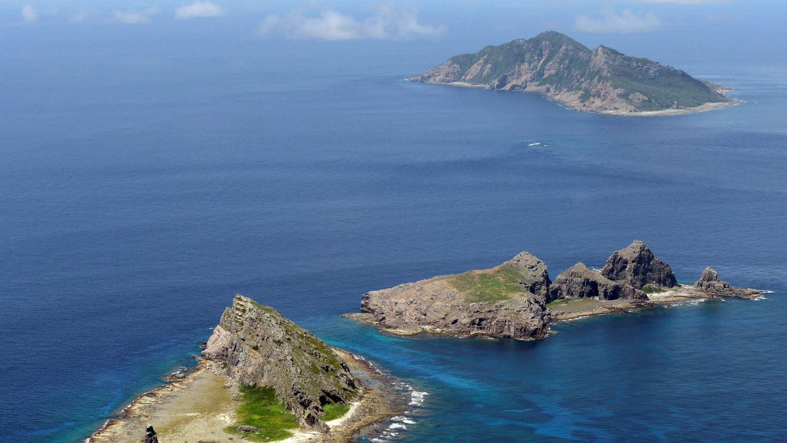 Senkaku/Điếu Ngư là quần đảo đang có tranh chấp giữa Nhật Bản với Trung Quốc. Ảnh: Reuters
