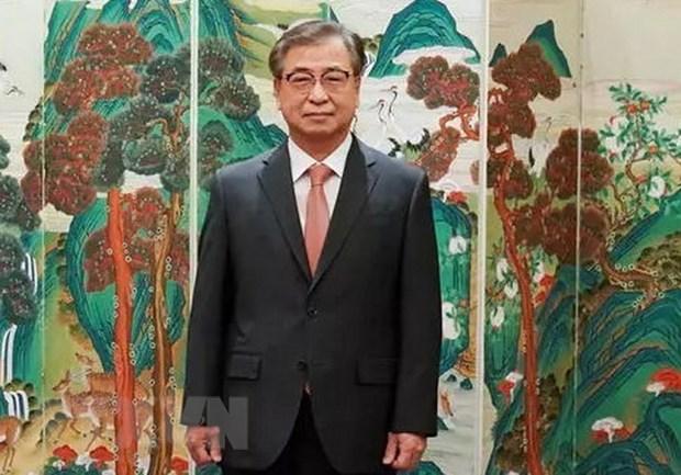 Giám đốc văn phòng an ninh quốc gia thuộc Phủ Tổng thống Hàn Quốc, ông Suh Hoon. (Ảnh: Chinadaily/TTXVN)