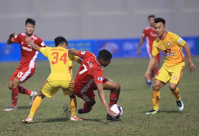 Thanh Hoá chơi tốt trước Viettel
