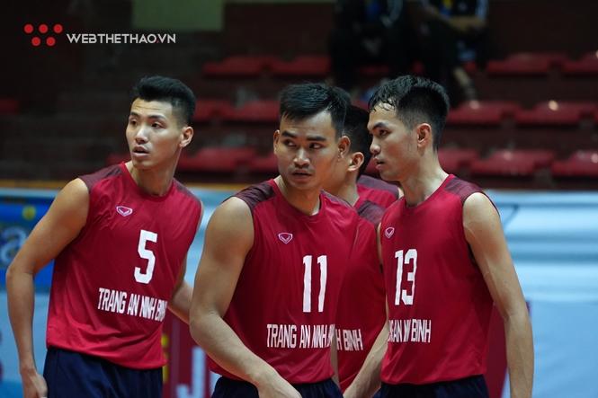 Các cầu thủ Trang An Ninh Bình liệu có bảo vệ được chức vô địch Cúp Hoa Lư tại mùa giải 2021?