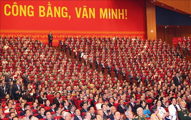 Đại biểu dự phiên khai mạc Đại hội. Ảnh: TTXVN