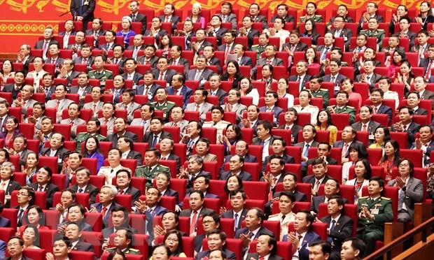 Các đại biểu dự phiên khai mạc Đại hội. (Ảnh: TTXVN)