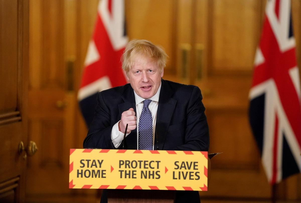 Thủ tướng Anh Boris Johnson. Ảnh: NBC News