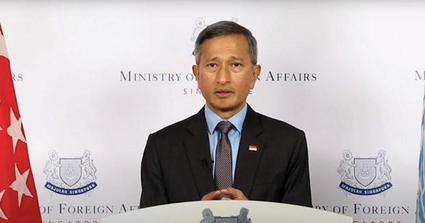 Ngoại trưởng Singapore Vivian Balakrishnan. (Nguồn: mothership.sg)