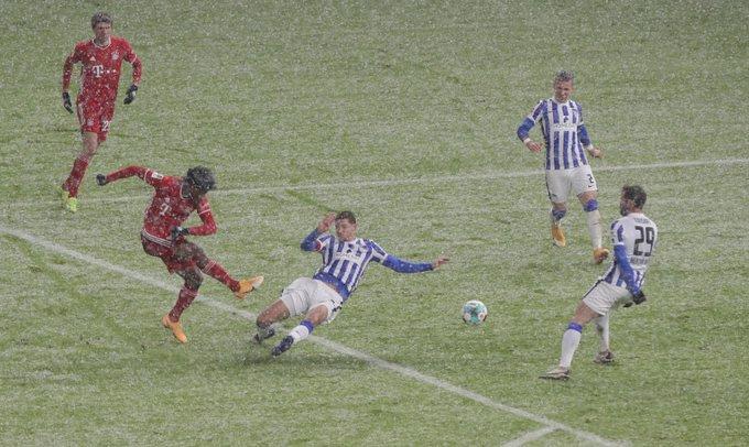 Coman ghi bàn thắng duy nhất của trận đấu