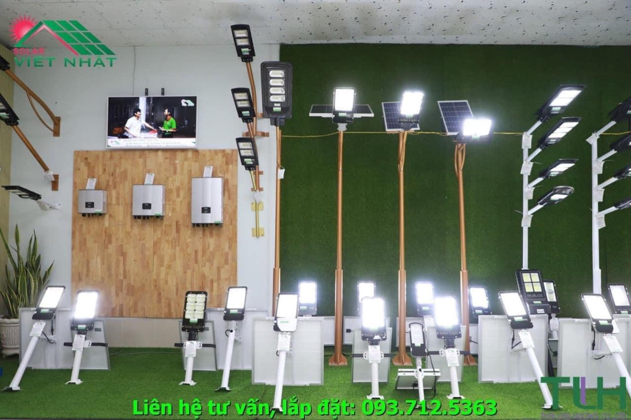 Đèn đường năng lượng mặt trời tại Solar Việt Nhật