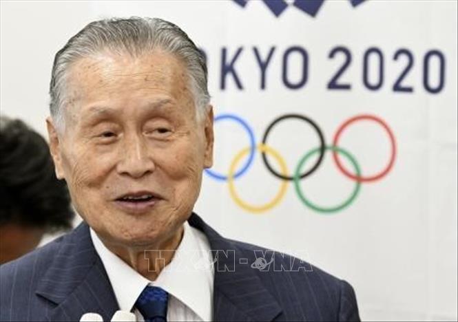 Trưởng Ban Tổ chức Olympic và Paralympic Tokyo, ông Yoshiro Mori. Ảnh tư liệu: Kyodo/TTXVN