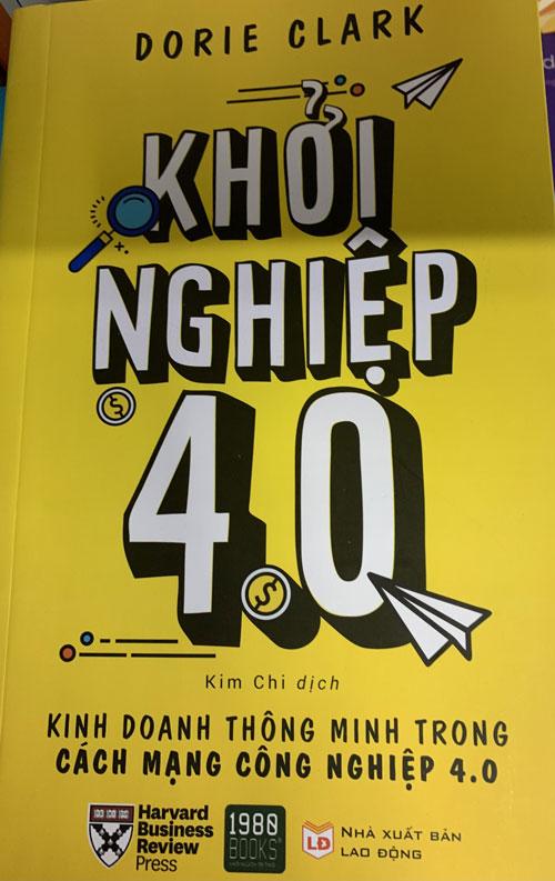 Bìa sách Khởi nghiệp 4.0.