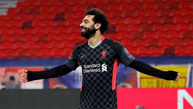 Salah mở tỷ số sau sai lầm của hàng thủ đội chủ nhà