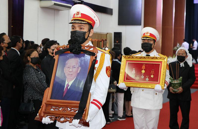 Di ảnh đồng chí Trương Vĩnh Trọng.