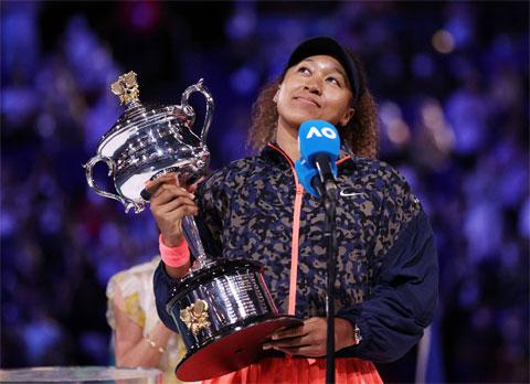 Naomi Osaka vô địch Australian Open 2021 để chạm mốc Grand Slam thứ tư