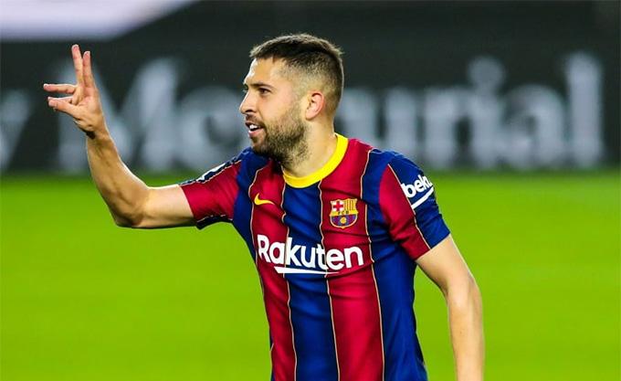Jordi Alba ấn định chiến thắng cho Barca
