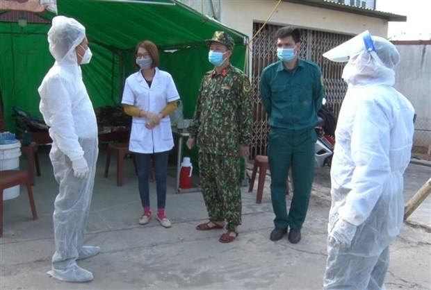 Đến nay, ổ dịch ở thôn Từ Hồ, xã Yên Phú (huyện Yên Mỹ, tỉnh Hưng Yên), nơi phát hiện 3 ca dương tính từ ngày 9/2 (BN2060, BN2062, BN2063) đã được kiểm soát. Ảnh: Đinh Tuấn/TTXVN