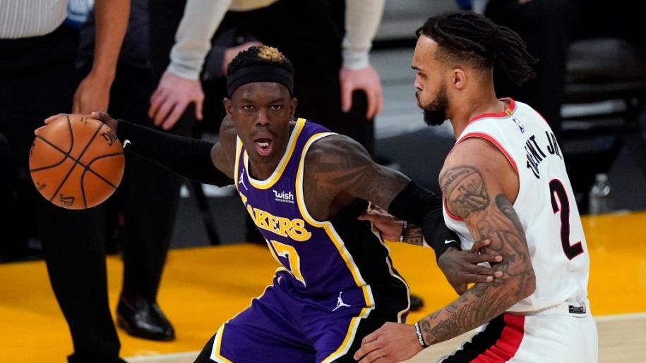 Schroder trở lại giúp Lakers thi đấu thanh thoát hơn