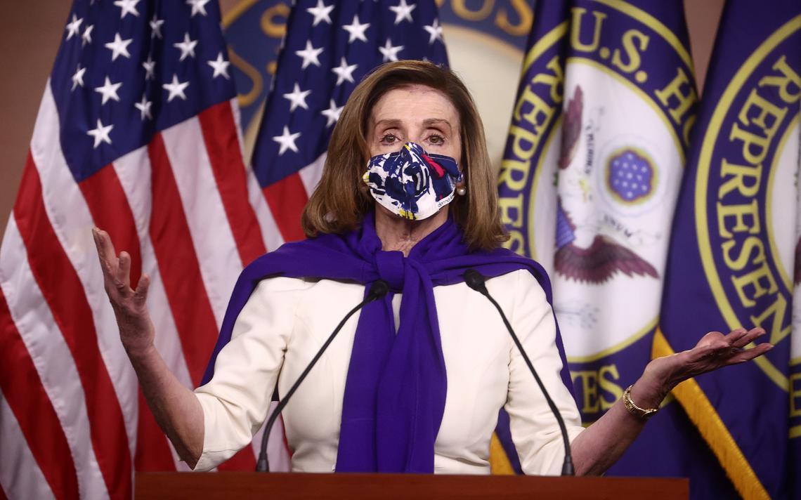 Chủ tịch Hạ viện Mỹ Nancy Pelosi. Ảnh: Washington Post