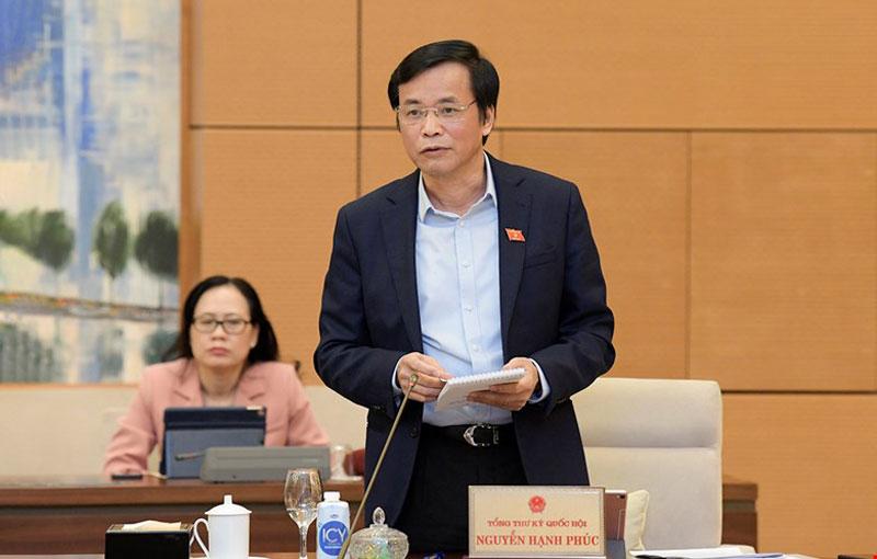 Phiên họp thứ 53 của Ủy ban Thường vụ Quốc hội.