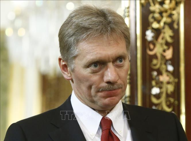 Người phát ngôn Điện Kremlin Dmitry Peskov. Ảnh: AFP/TTXVN