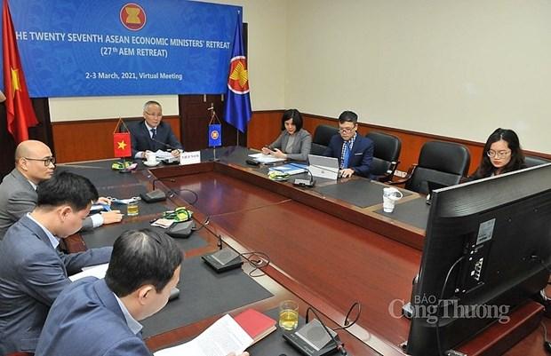 Đoàn Việt Nam do Thứ trưởng Bộ Công Thương Trần Quốc Khánh dẫn đầu cùng đại diện của các bộ, ngành liên quan và các đơn vị trong bộ tham dự hội nghị. Nguồn: congthuong.vn